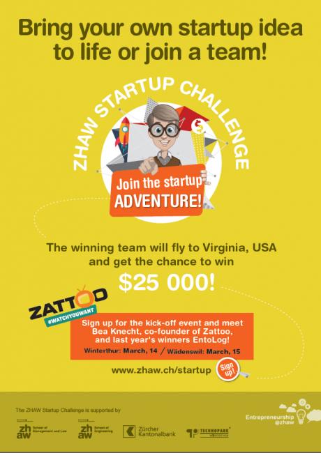 ZHAW Startup Challenge