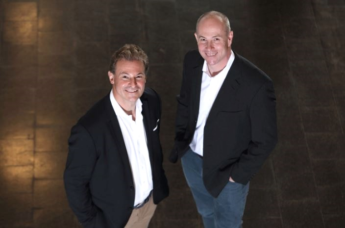 Jacques Hefti (left) and Dr. Matthias Hölling (right), the both Co-Directors of STARTUP CAMPUS